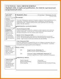 100 functional skills resume templates resume samples latest
