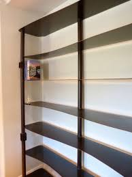 j u0026m custom bookshelves eclectic bookcases san diego shallow