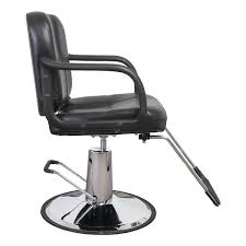 Barber Chair For Sale Austin Black Quilted Hair Salon Styling Chair
