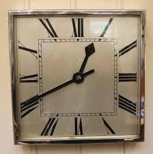 Art Wall Clock by Art Deco Wall Clocks Shenra Com