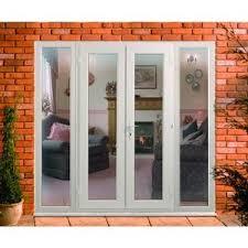 Pvcu Patio Doors Wickes Upvc Doors 8ft With 2 Side Panels 600mm Upvc