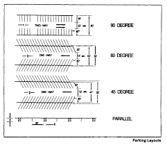 parking garage plan dimensions 220 58 off street parking
