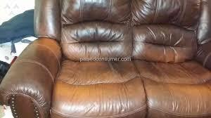 Flexsteel Leather Sofa Mealeys Furniture Flexsteel Leather Furniture Set Review From