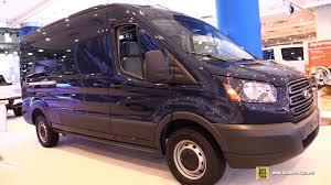 2017 ford transit 150 cargo van exterior and interior walkaround
