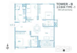 2bhk Plan by Sbc Buildtech Sbc The Nest Floor Plan Sbc The Nest Kadugodi