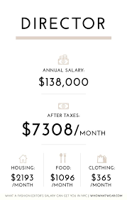hair stylist salary 2015 what a fashion editor s salary can get you in nyc whowhatwear au