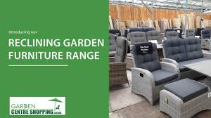 Rocking Recliner Garden Chair Reclining Garden Furniture Chairs Sofas And Dining Sets Youtube