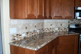accent tiles for kitchen backsplash kitchen wooden kitchen cabinets granite countertops mosaic tile