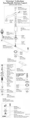 delta kitchen faucet parts diagram plumbingwarehouse com delta kitchen faucet parts for model 2155