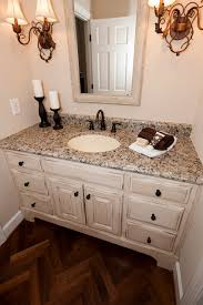 powder room vanity cabinets antiqued vanity cabinet traditional powder room atlanta by