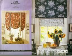 sewing patterns home decor vogue 2082 roman shades pattern home decor window treatments
