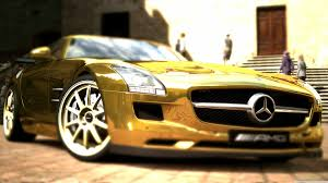 mercedes benz sls amg gold 4k hd desktop wallpaper for 4k ultra