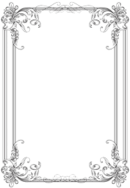 wedding borders clipart classic pencil and in color clipart classic