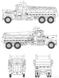 kenworth dump truck the blueprints com blueprints u003e trucks u003e kenworth u003e kenworth