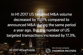 Investment Banking League Tables Eu Dealmaking Surge Takes H1 2017 Spotlight Inside Financial U0026 Risk