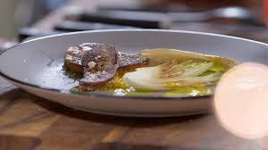 recette cuisine tf1 mariotte recette de foie gras poêlé aux endives et vinaigrette à la mangue