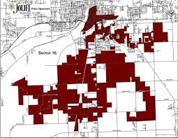 Chicago Street Numbers Map by Sector Maps U2013 Joliet Police Department
