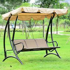 hammock bench hawaii durable iron 3 person canopy garden swing chair hammock