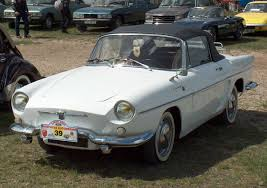 renault dauphine convertible photo renault caravelle cabriolet