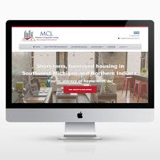 corporate rentals website design kalamazoo web design small