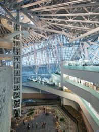 winter garden atrium with offices at right canadian museum of