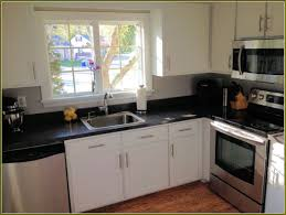 furniture updating kitchen reface cabinets with black granite