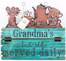 wooden country garden home décor hanging signs ebay