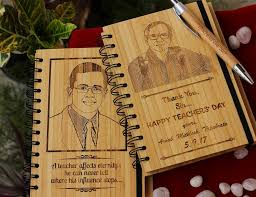 Personalized Wooden Gifts Teacher U0027s Day Gifts Notebooks For Teachers Personalized Wood