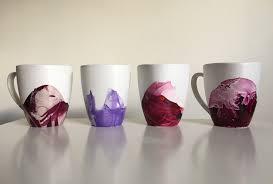Amazing Mugs by Dollar Store Hack Marble Mugs Using Nail Polish Babble