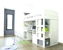 lit mezzanine avec bureau pas cher lit et bureau bureau avec rangement pas cher lit superpose avec