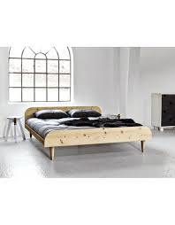 Metal Bunk Bed Frame Fulton Bed Frame Twist Futon Bed In Natural Finish From Metal Bunk