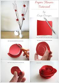 10 best images of diy paper flowers step by step how to