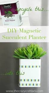 Make A Brick Succulent Planter - succulent jar magnets magnets craft and plants