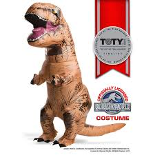 jurassic world inflatable t rex costume buycostumes com
