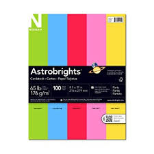 astrobrights colored cardstock 8 5 x 11 65 lb