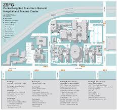 San Francisco Street Map by Department Of Public Health Zuckerberg San Francisco General