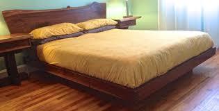 outstanding walnut platform bed queen pics decoration ideas