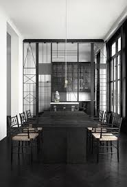 Dark Dining Room Table Best 25 Dark Dining Rooms Ideas On Pinterest Black Dining Rooms