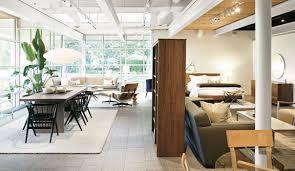 Modern Furniture Washington Il by Oak Brook Modern Furniture Store Room U0026 Board