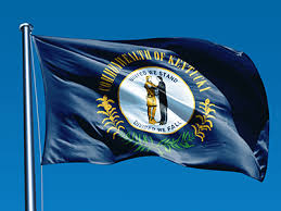 kentucky flag map kentucky flag meaning history of kentucky state flag