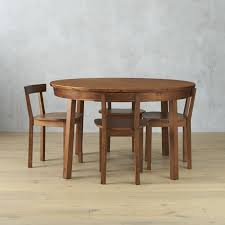 cb2 round dining table designer love piece dining