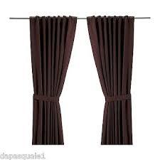 Curtains 145 Cm Drop Ikea Tandrot Pair Of Curtains Length 165 Cm 57
