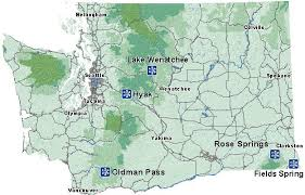 springs washington map play sno parks washington state parks and recreation commission