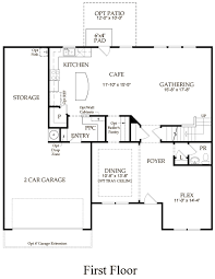 wingate new home plan charlotte nc pulte homes new home