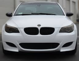 matte white bmw california satin white car wrap orange county