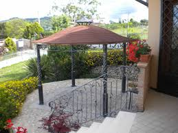 modern steel canopy home decor waplag exterior floating gazebo