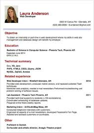 resume template for internship writing a successful internship report part 2 resume cv