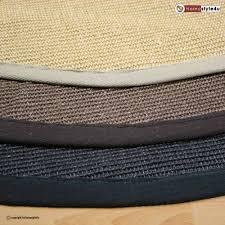 teppich sisal sisal teppich rund 120 cm inspiration design familie traumhaus