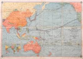 Map Of Pacific Ocean Sailors U0027 Journals From The Pacific Theatre Of World War Ii