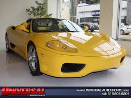 spider 360 price universal autosports price reduced 2001 360 spider